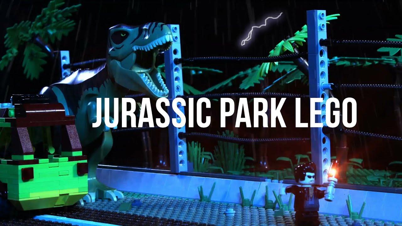 Jurassic Park's Memorable Scenes Recreated In Stop-Motion LEGO