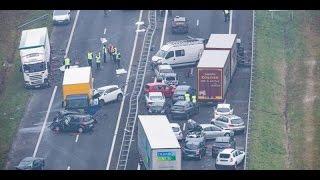 ДТП. Видео, которое пугает водителей Европы!