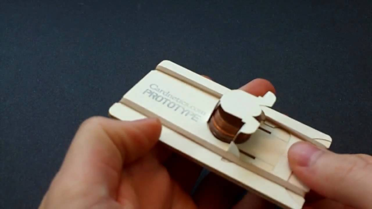 A Penny-Shooting Business Card Probably Won't Win Anyone Over