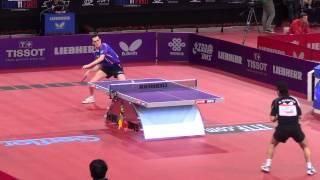 Puntos espectaculares del Mundial de tenis de mesa París, Francia 2013