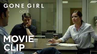 """Should I Know My Wife's Blood Type?"" Clip - Gone Girl"
