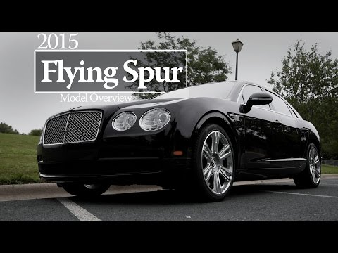 2015 Bentley Flying Spur Overview & Test Drive