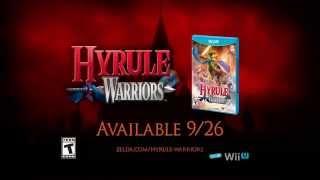 Pub américaine version longue pour Hyrule Warriors (WiiU)