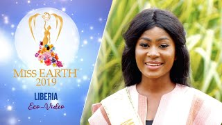 Georgia Leela Bemah Miss Earth Liberia 2019 Eco Video