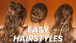 3 Easy Hairstyles With Bangs