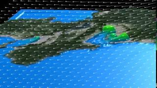 伊勢湾台風高潮シミュレーション3D