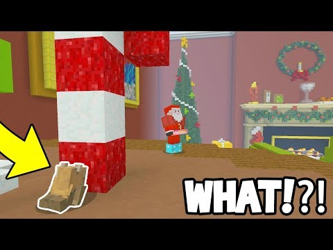 TROLLING AS SMALL SKIN ON CHRISTMAS! (Minecraft Xbox Hide and Seek)