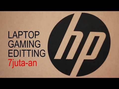 UNBOXING Laptop HP 15 - BW070AX - LAPTOP GAMING, EDITING 7 JUTA-AN