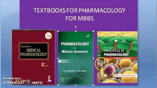 Pharmacology 001 a Textbooks for Pharmacology for MBBS Student KD Tripathi Review KDT Books