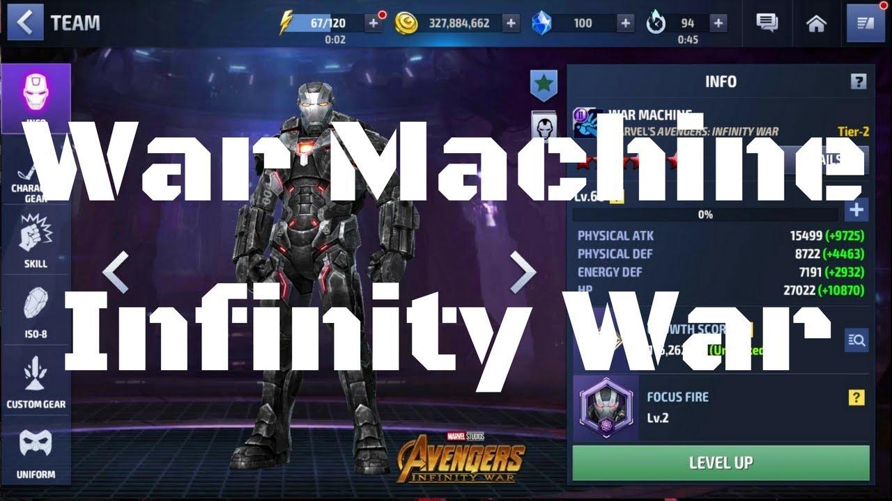รีวิว War Machine ยู Infinity War