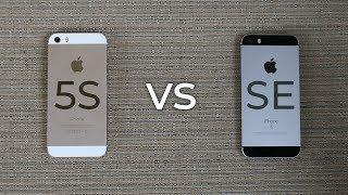 IPhone 5S Vs IPhone SE - 2018 Comparison