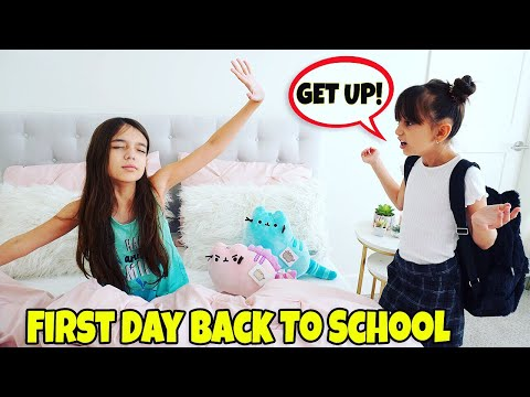 GRWM First Day of School 2019 Morning Routine - NEW SCHOOL!