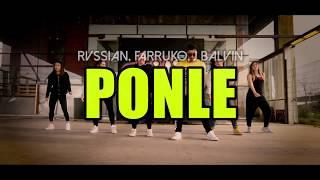 Ponle - Rvssian, Farruko, J Balvin Coreografía Zumba  Lalo Marin