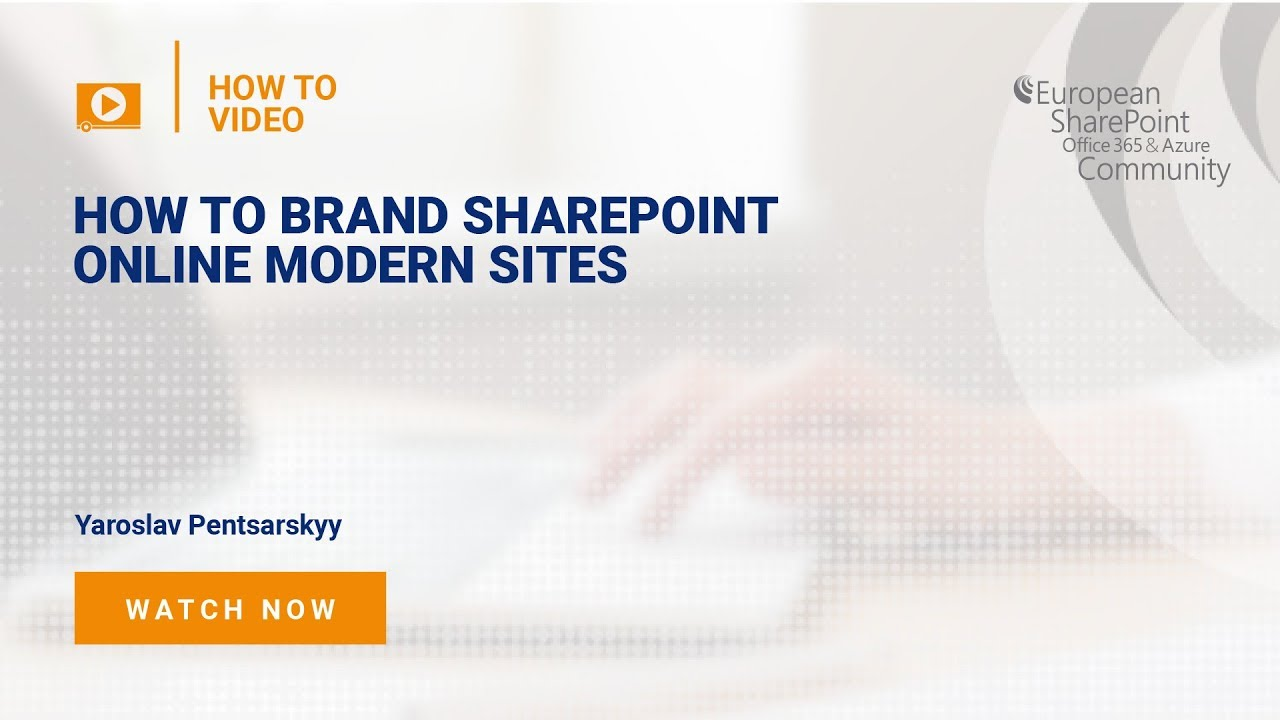 How To Brand SharePoint Online Modern Sites