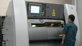 都産技研金属3Dプリンター金属粉末積層造形装置による造形