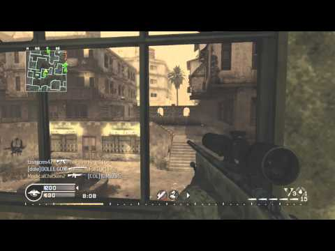 Escaping Reality - CoD4 Sniping Commentary by Muzzafuzza