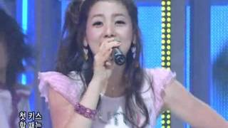 Sunnyhill - I know love only (써니힐-사랑밖에난몰라) @SBS Inkigayo 인기가요 20080720