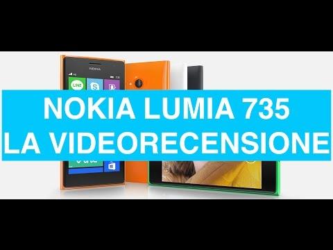 Nokia Lumia 735, videorecensione