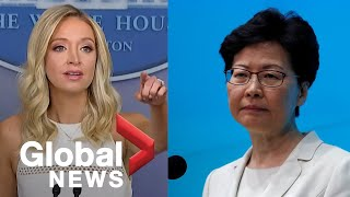 White House Condemns Decision To Delay Voting In Hong Kong Even As Trump Mulls Delaying US Election