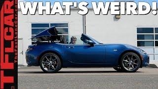 What's So Weird About the 2019 Mazda MX-5 Miata RF