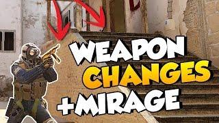 CS:GO UPDATE: CZ NERF, M4 SILENCER & MIRAGE CHANGES