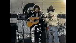 Piece of Wood and Steel - David Allan Coe - RARE 1975 Video Performance
