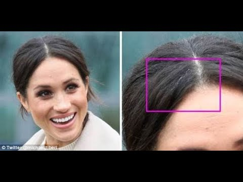 Twitter users furious at Marie Claire article about Meghan Markle's gray hair