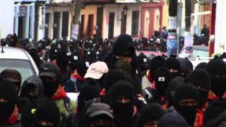 Zapatistas Silent Mobilization - December 21 2012