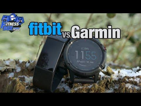 FITBIT oder GARMIN - Wer liefert genauere Daten im Alltag und beim Sport? // Vergleich über 1 Monat