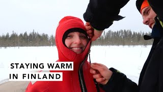 ❄️ Being Adventurous in Finland! ❄️ | Estée Lalonde