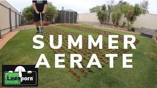 Summer Aerate