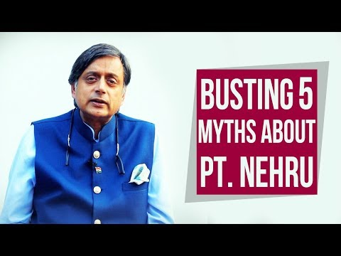 Busting 5 Myths about Pt. Nehru