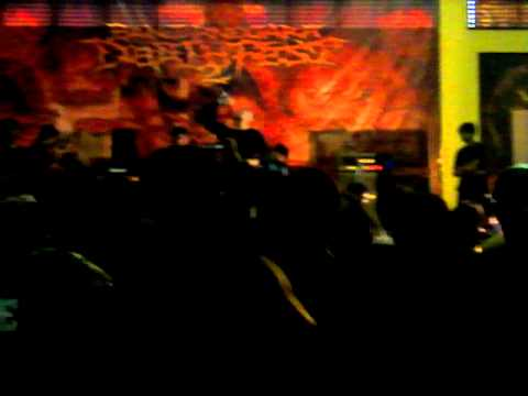 "Over My Head  ""Judgement Day"" Live @ Banjarnegara deathfest 2.MOV"