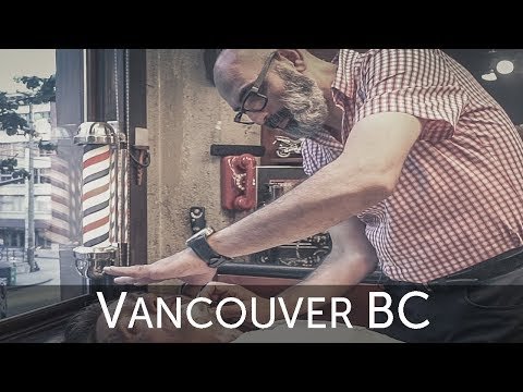 """💈 Farzad """"The Happy Barber"""" Deluxe Hot Shave – Vancouver BC"""
