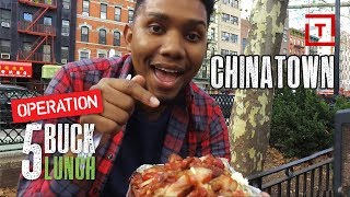The Best Cheap Food in NYC's Chinatown || Operation $5 Lunch - Video Youtube