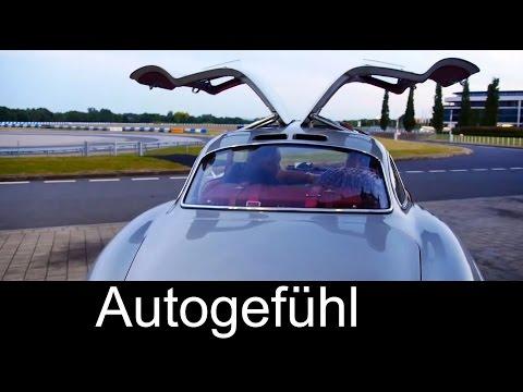 Mercedes 300 SL gullwing original 1954 built test drive 300 SL Flügeltürer - Autogefühl