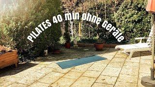 Pilates mit Gabriella (40 Min.)