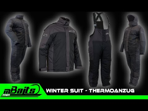 Angel Berger Magic Baits Thermoanzug Winter Suit 2 teilig Thermobekleidung Winterbekeildung