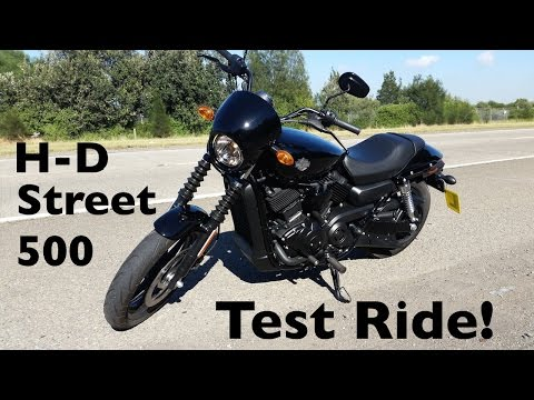Harley-Davidson Street 500 Test Ride | The Gateway to H-D Ownership!