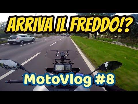 Arriva il freddo! Inverno in moto e abbigliamento termico   Motovlog Italia #8