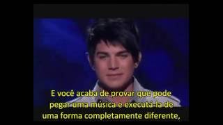 "Performance de ""One'"" - Adam Lambert, TOP 3, American Idol (2009) - legendado"