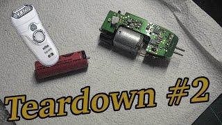 Teardown #2: Braun Silk Epil Epilator