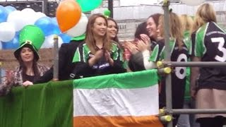 preview picture of video 'St Patrick's Day Parade London 2015'