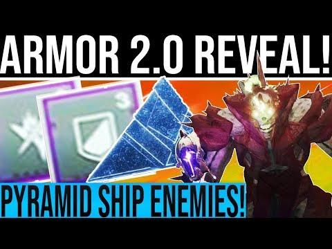 Destiny 2 DLC ARMOR 2.0 REVEAL! Crota Throne Room, Pyramid Ships, Subclass Tree Update, Astro Winner