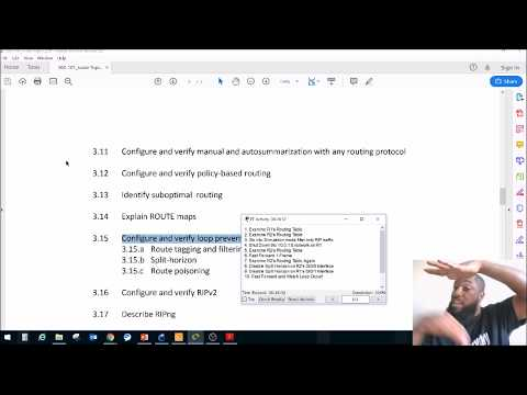 3.15b Split Horizon - CCNP ROUTE Exam (300-101) - YouTube