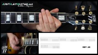 [ OFFSPRING - Self esteem ] How to play 2/2 [ free guitar lesson ] with tabs