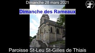 2021-03-28 – Messe des Rameaux