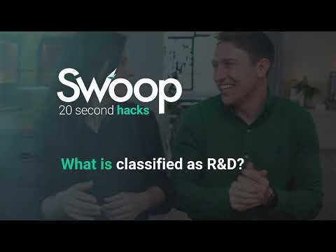 What is classified as R&D?