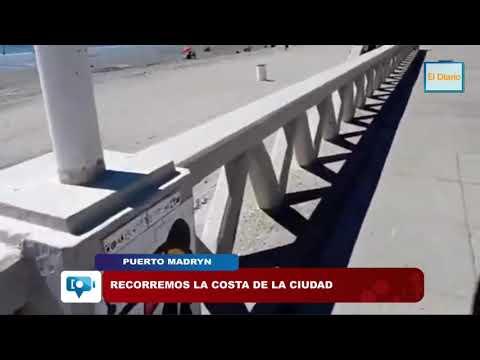 Recorremos la costa de Puerto Madryn