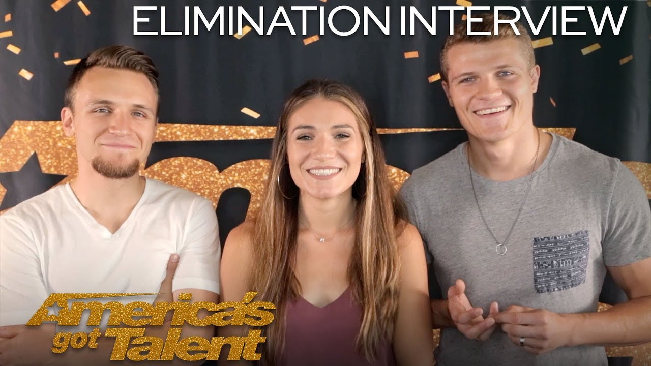 Elimination Interview: We Three Speaks On Their First Audition - America's Got Talent 2018 thumbnail